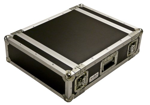 deetech 3 HE Endstufen Flightcase / Amp Rack / Double Door Case, 9 mm