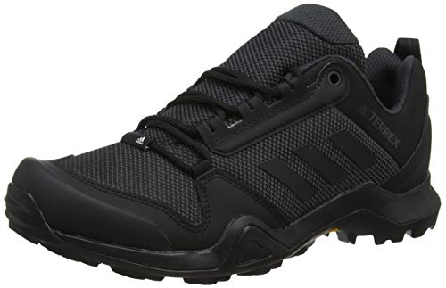 adidas Herren Terrex AX3 Walkingschuhe, Schwarz Core Black/Carbon, 44 EU (Herren Trail-walking-schuhe)