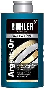 buhler Nettoyant Argent et Or Flacon de 150 ml - Lot de 4