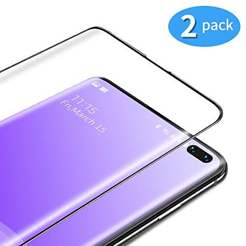 TAMOWA Vetro Temperato per Samsung Galaxy S10 Plus/S10+ [2 Pezzi], 3D  Copertura Completa Pellicola Protettiva in Vetro Temperato per Samsung  Galaxy ...