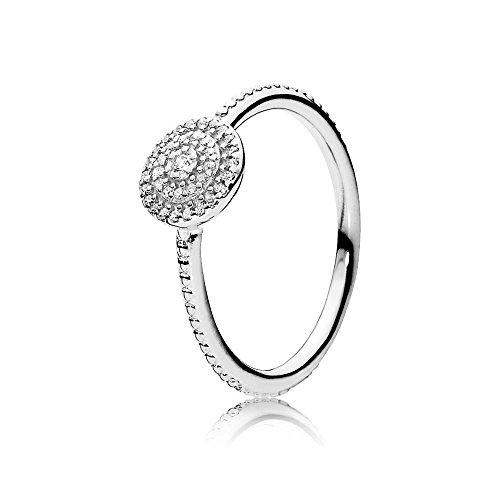 Pandora Damen-Ring Strahlende Eleganz 925 Zirkonia silber Gr. 60 (19.1)-190986CZ-60