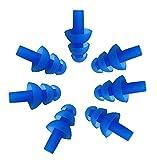 5 paires (10) étanche en silicone Nageurs Bouchons d'oreille souple et flexible Gel...