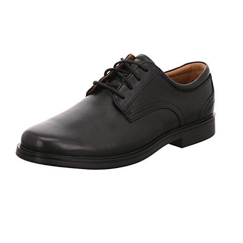 Clarks Lacci Scarpe per Gli Uomini, Color Nero, Marca, modelo Lacci Scarpe per Gli Uomini Aldric Lace Black Leath Nero