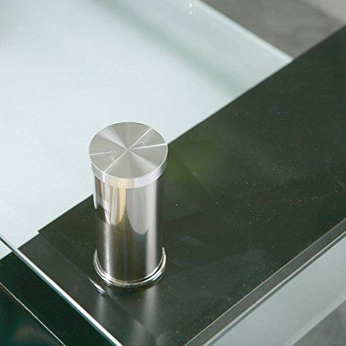 couchtisch glas schwarz bestseller shop f r m bel und einrichtungen. Black Bedroom Furniture Sets. Home Design Ideas