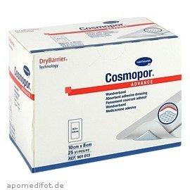 Cosmopor Advance steriler Wundverband 10x8cm 25 Stück -