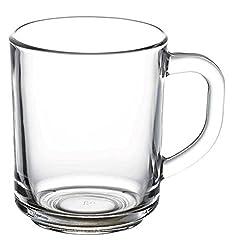 "Pasabahce 55531 – Trinkgläser, Teeglas Mit Henkel ""Basic"", 6er Set"