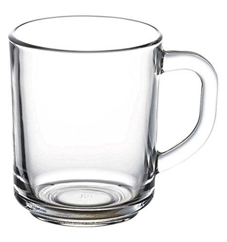 "Pasabahce 55531 – Trinkgläser, Teeglas Mit Henkel \""Basic\"", 6er Set"