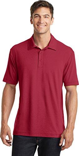 Port Authority Herren Poloshirt Rot - Chili red