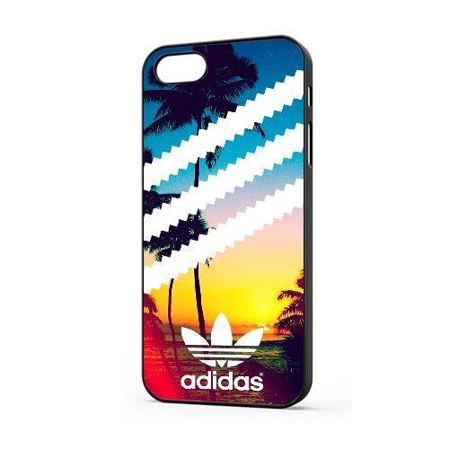 Générique Appel Téléphone coque pour iPhone 5 5s SE/Noir/ADIDAS LOGO/Seulement pour iPhone 5 5s SE coque/GODSGGH936897
