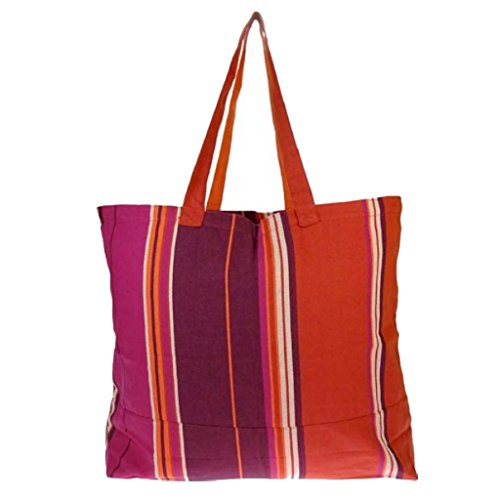 Textiles Fairtrade , Borsa da spiaggia  multicolore Greta Berry