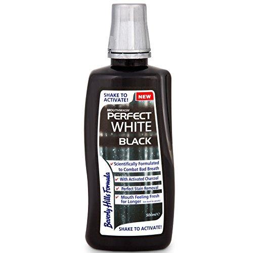 Beverly Hills Formula 500 ml White Black Perfect Mouthwash by Beverly Hills Formula