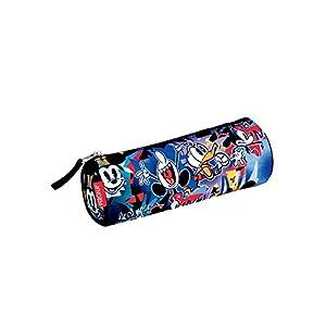 Mickey Mouse- Estuche portatodo Tubo,, 22 cm (Montichelvo 53999)