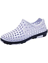 cd457c1f2 Amazon.co.uk  White - Sandals   Men s Shoes  Shoes   Bags