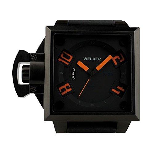 Coffret reloj Welder hombre K-25modelo Data negra y naranja–4102/1745K25