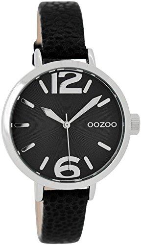 Oozoo Damenuhr Schwarz 35 mm JR274