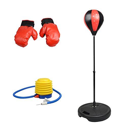 Punchingball Boxen Kit, Standboxball mit Handschoenen Boxen Speelgoed für Kinderen Jeugd