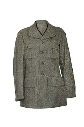 Original Vintage Swedish Military Wool Jacket (S)