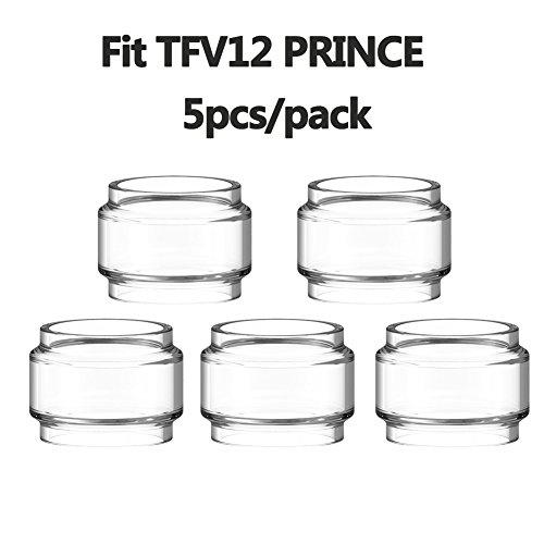 Furuipeng 5X Spare Bulb Pyrex Glass Tube Pieces for SMOK TFV12 Prince Tank  (Prince)