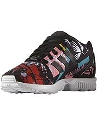 san francisco 5dc1f 4eeec Adidas Originals ZX FLUX W Chaussures Mode Sneakers Femme Multicolor