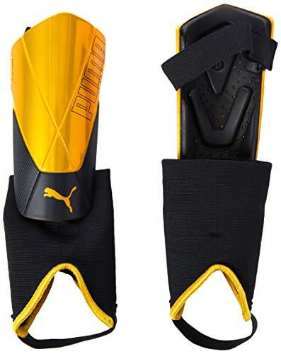 PUMA Unisex- Erwachsene ftblNXT PRO Flex Ankle Schienbeinschoner, Ultra Yellow Black, L