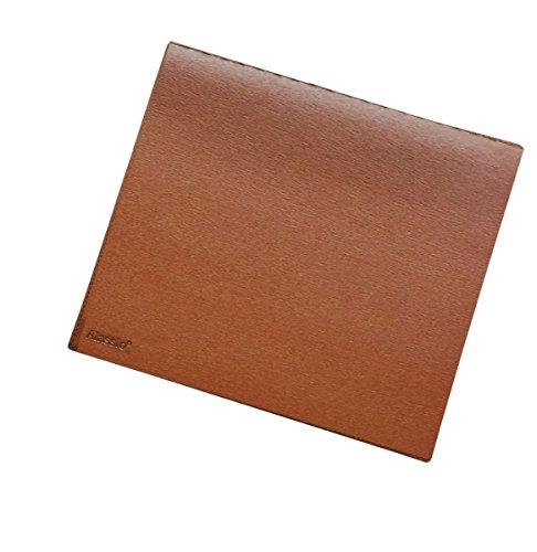 Preisvergleich Produktbild Alassio 52007 - Maus - Pad, Leder, cognac - braun, ca. 25 × 22 cm