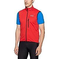 GORE BIKE WEAR Homme Gilet de cyclisme sur route ou VTT, Chaud et respirant, GORE WINDSTOPPER Soft Shell, Taille S, Jaune Fluo/Noir, VWSELM089903