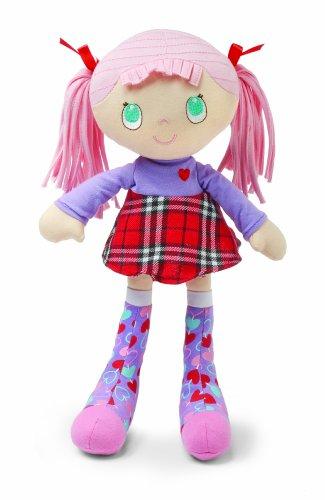 Kids Preferred Socks Rock Doll, Pink Hair