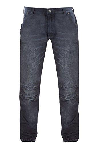 "D555 Herren Jeans 34"" Jeansblau"