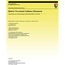 Quieter Pavements Guidance Document