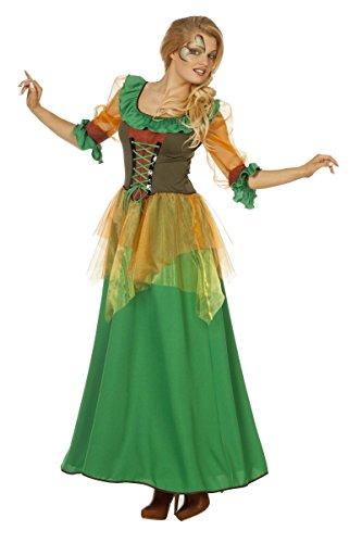 (Damen Kostüm Herbstfee Fee Elfe Hexe Karneval Fasching Gr.48)
