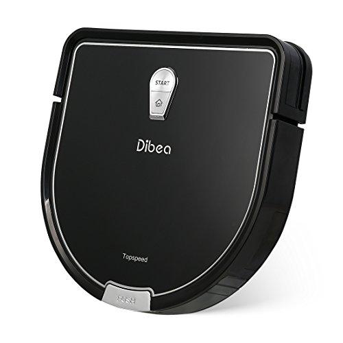 Dibea Robot Aspirador y fregado Limpieza Friegasuelos,Batería 2600mAh 2 horas, 1.2Kpa de potencia...