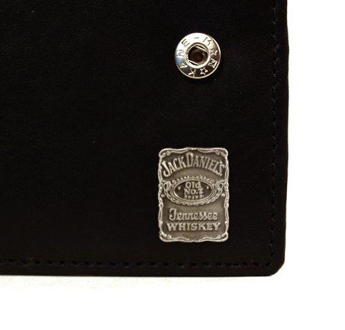 Jack Daniels pelle portafoglio quadrato
