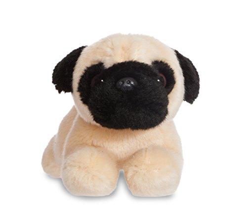 Aurora- Pug de Peluche, colección Luv to Cuddle, Color Beige y Negro, 20 cm (0060060706)