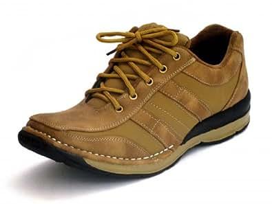 FBT Men's Tan Synthetic Boots (8876 - 10) - 10 UK