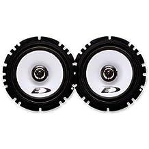 Alpine SXE-1725S - Altavoces (220 W, 40 W RMS, 60 Hz - 20 kHz, 92 dB/W/m), color negro y plata