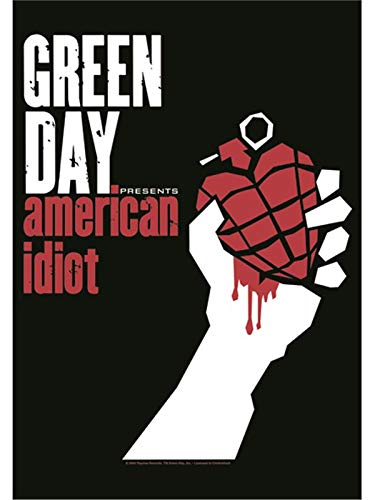 Greenday - American Idiot Flagge