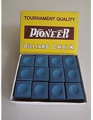 Caja de 12 Tounament calidad tizas azules,