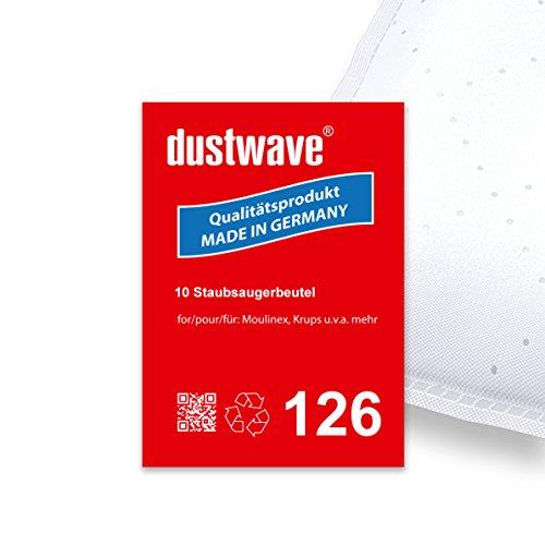 Sparpack - 10 Staubsaugerbeutel geeignet für Privileg - 191.330 / 191330 Bodenstaubsauger - dustwave® Premiumqualität - Made in Germany