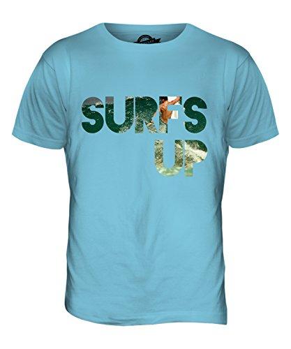 CandyMix Surfs Up Herren T Shirt Himmelblau