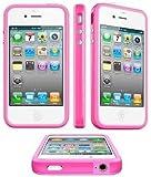 itronik® Bumper Schutzhülle für Apple iPhone 4 und 4s pink