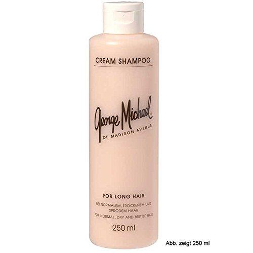 Trockene Spröde Haare (George Michael Cream Shampoo 1000 ml Shampoo für normales bis trocken/sprödes Haar)