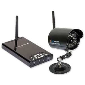 philex 28006r berwachungskamera set funk kamera mit digital video recorder nachtsicht 15m. Black Bedroom Furniture Sets. Home Design Ideas