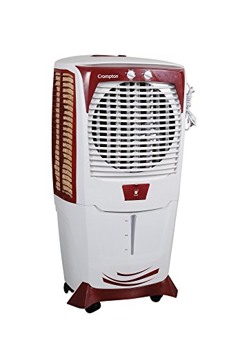 Crompton  Ozone Acgc-dac555 55-litre Dessert Cooler (white/maroon)