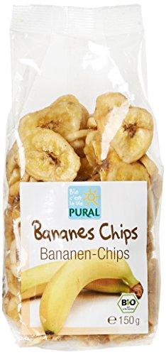 Pural Chips de Bananes Séchées Bio 150g