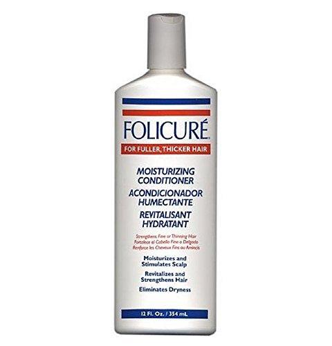 Folicure Moisturizing Conditioner for Fuller, Thicker Hair 12 Oz by Folicure - Folicure Moisturizing Conditioner