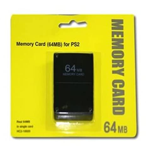 Childhood Black 64MB Memory Card Module for PS2