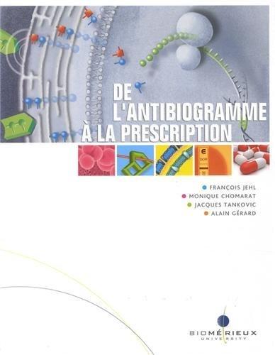 De l'antibiogramme  la prescription de Franois Jehl (1 dcembre 2012) Broch