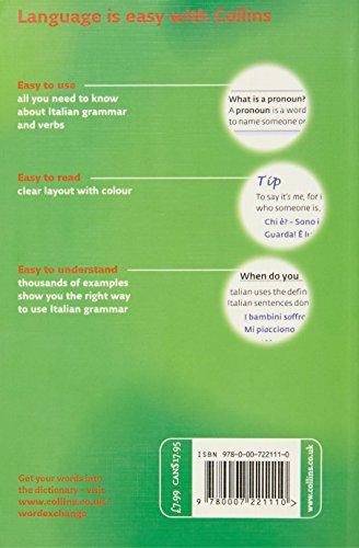 Collins Easy Learning – Collins Easy Learning Italian Grammar