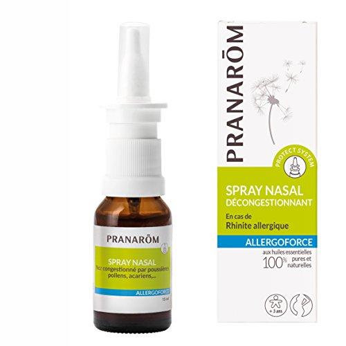 Pranarôm - ALLERGOFORCE - Spray nasal Décongestionnant - DM  - 15 ml