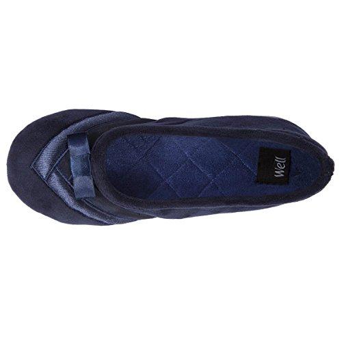 Isotoner ,  Pantofole Donna Marine